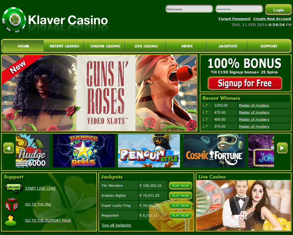 klaver-casino-screenshot