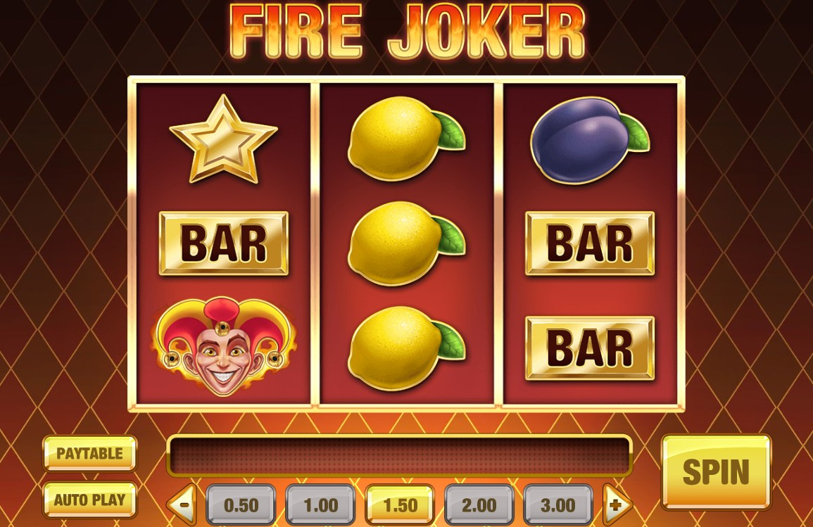 Fire Joker slot ReelTastic Casino