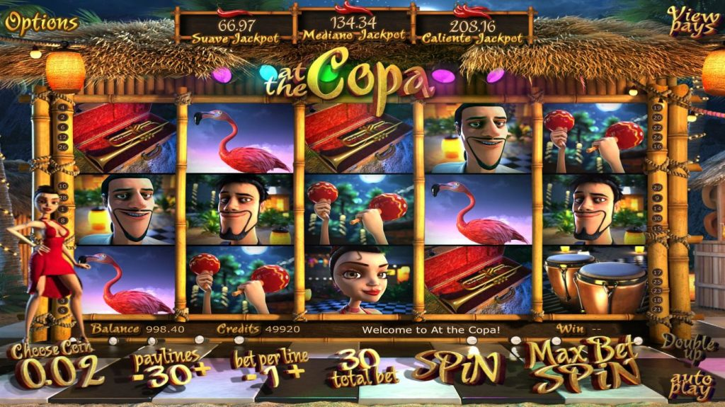 At the Copa slot Omnislots