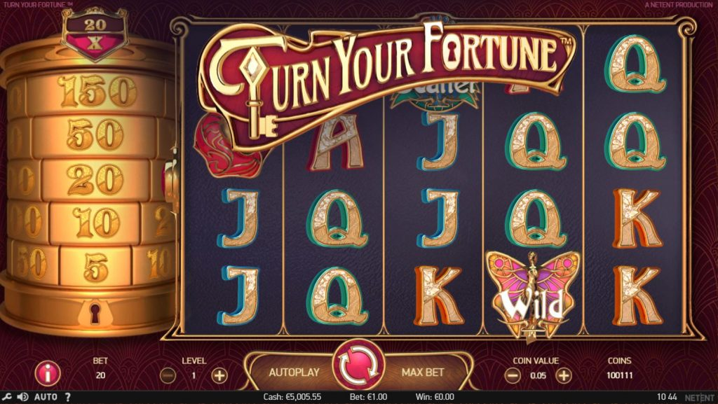 Turn Your Fortune slot Spinia Casino