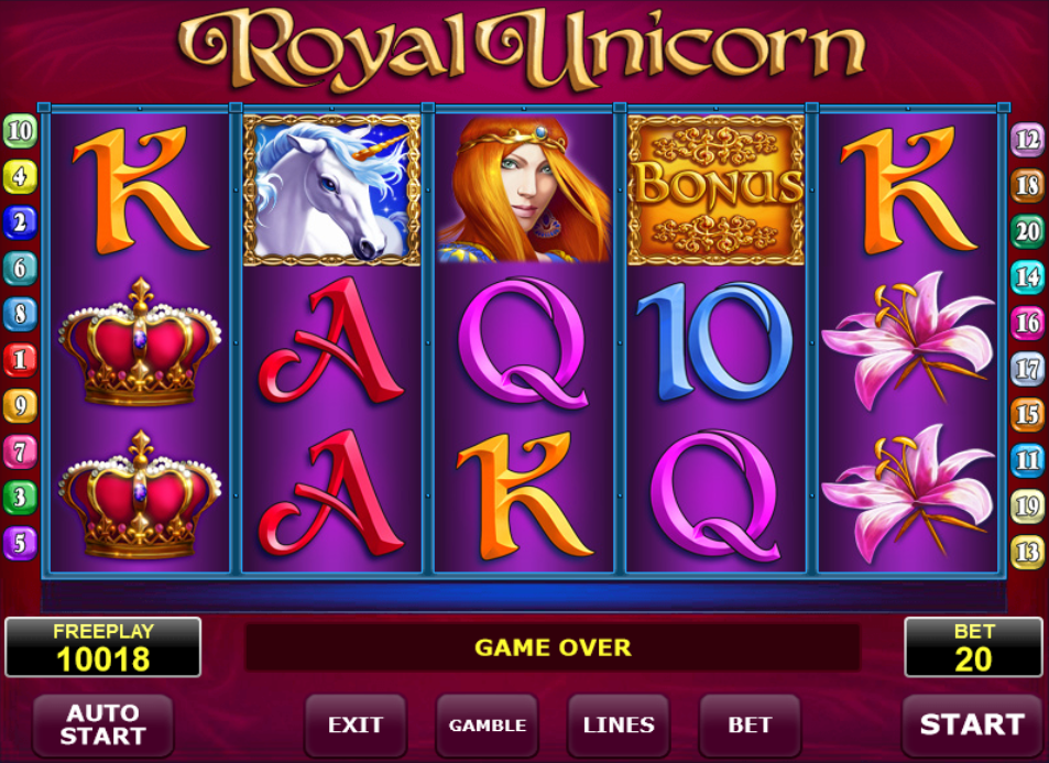 Royal Unicorn Eskimo Casino
