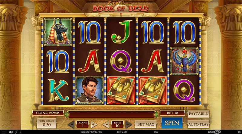 Book of Dead LuckyDays Casino