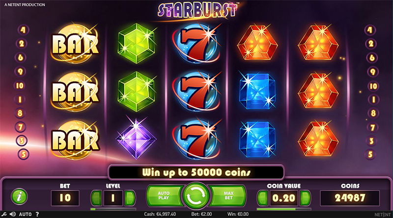 Starburst LuckyDays Casino